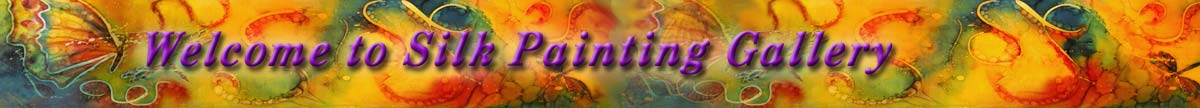 Silk Painting Gallery website
